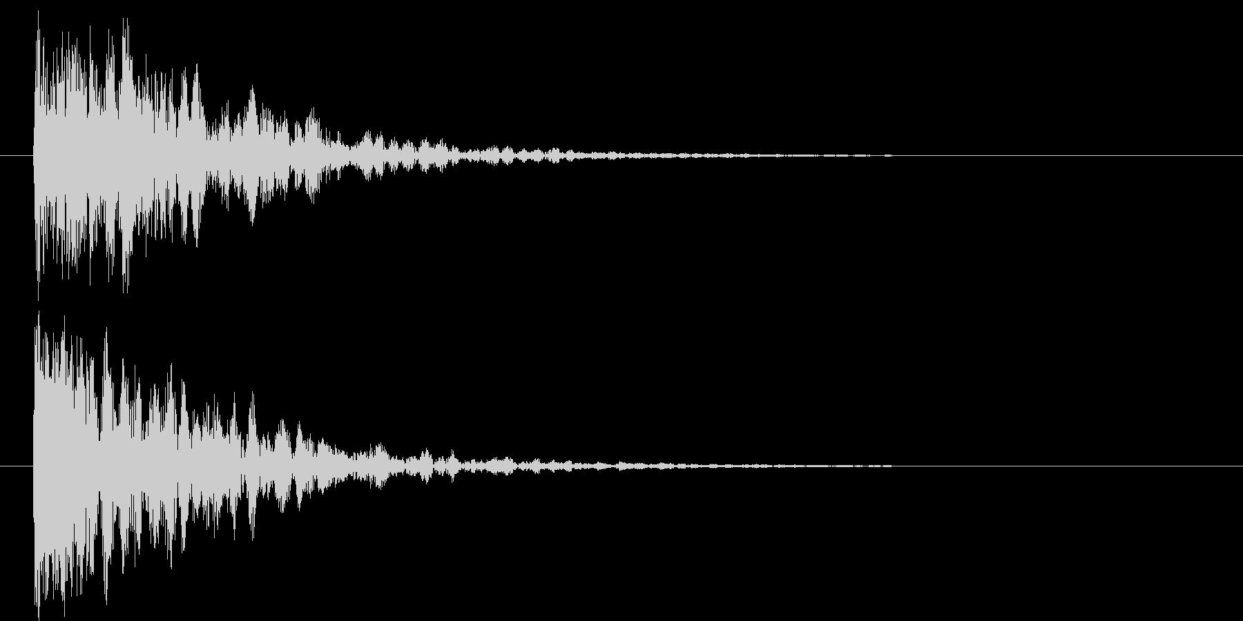 映画告知音152 ドーンの未再生の波形