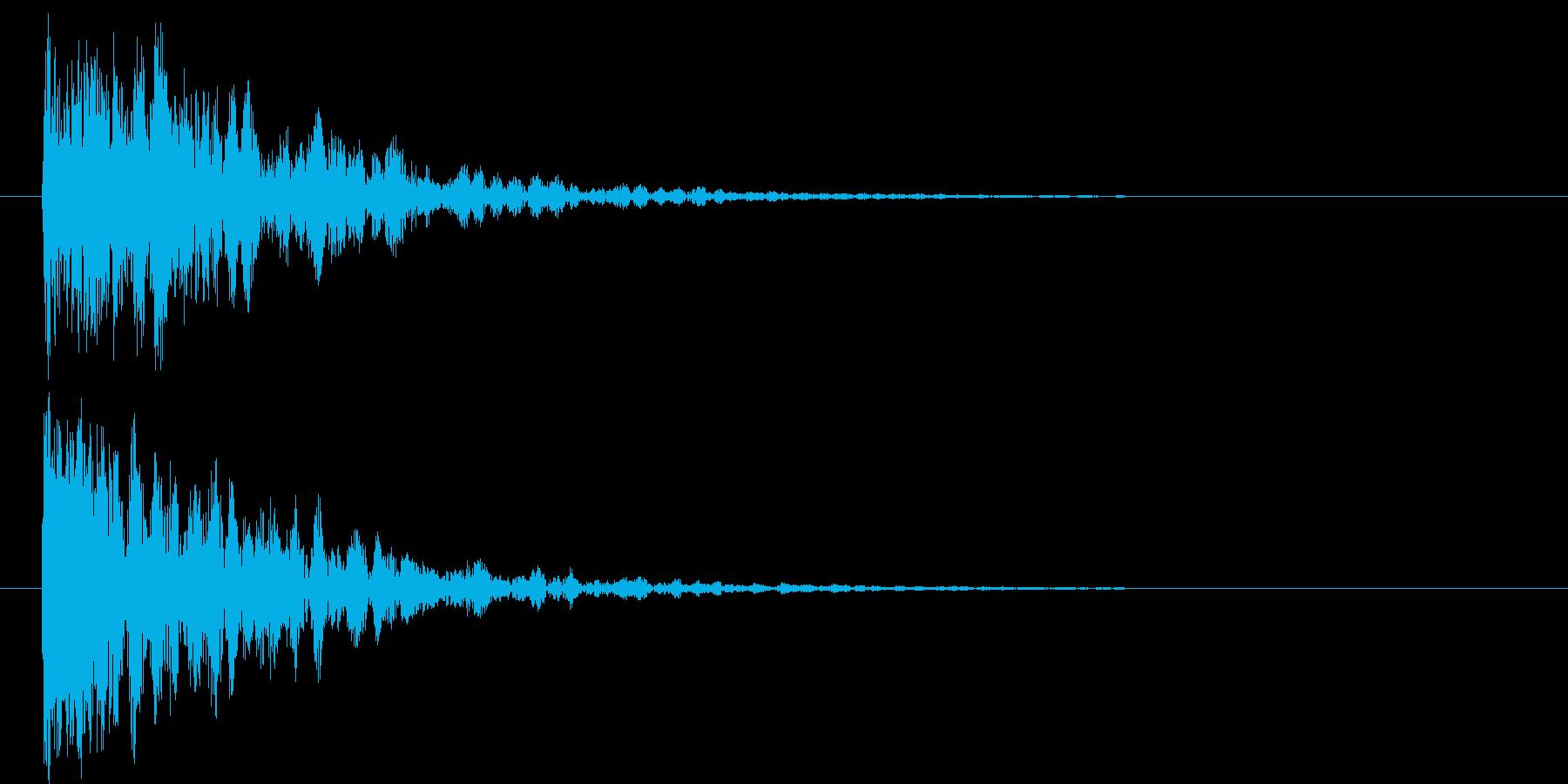映画告知音152 ドーンの再生済みの波形