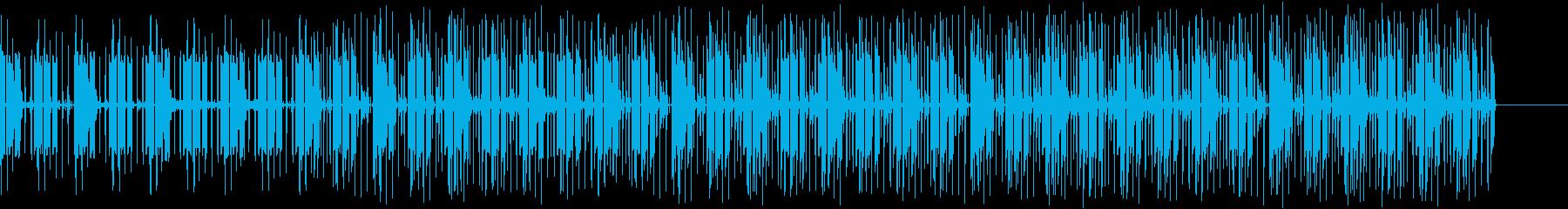 EDM 不思議なリードの曲ですの再生済みの波形