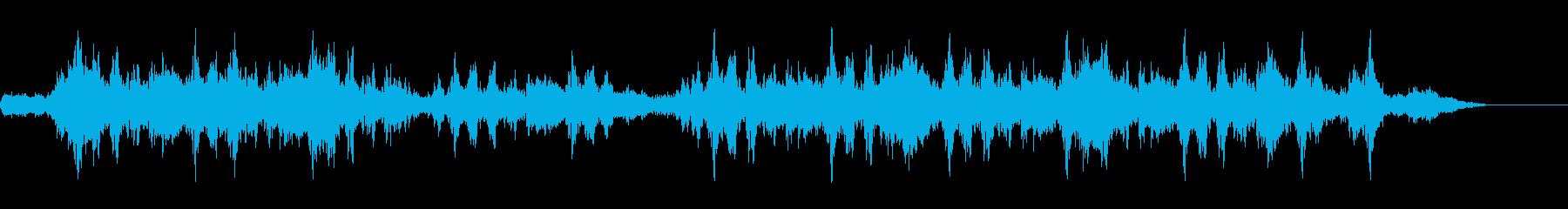 ヒューガタガタ(強風)の再生済みの波形