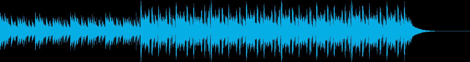 Pf「秒針」和風現代ジャズの再生済みの波形