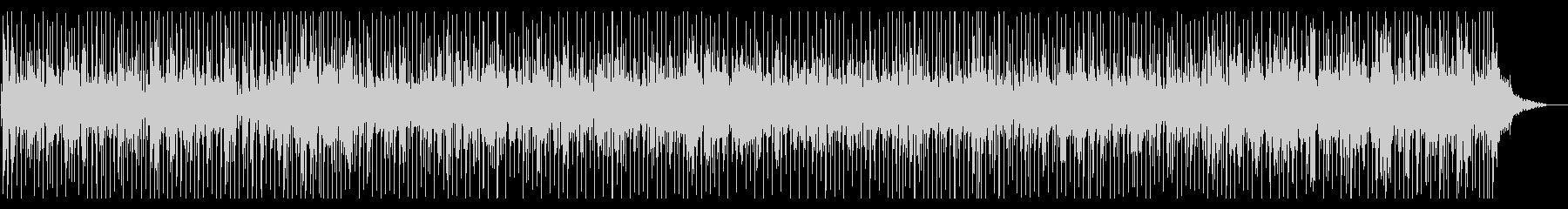 ピアノが印象的な爽やかな作品の未再生の波形