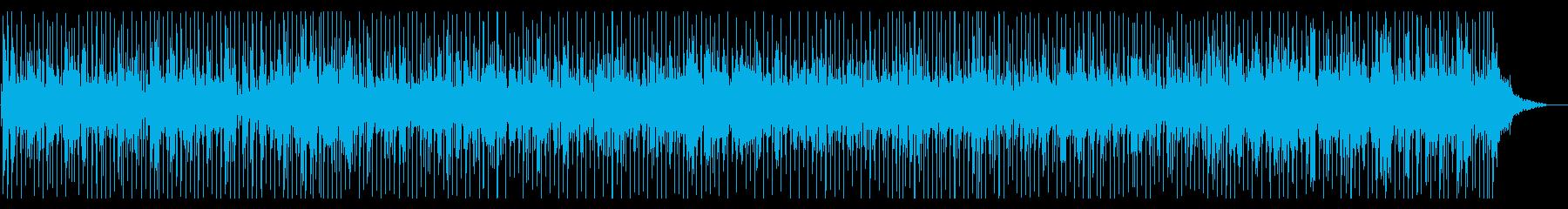 ピアノが印象的な爽やかな作品の再生済みの波形