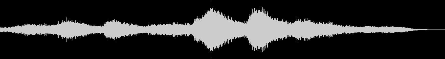 【ダークアンビエント】ホラーBGM_01の未再生の波形