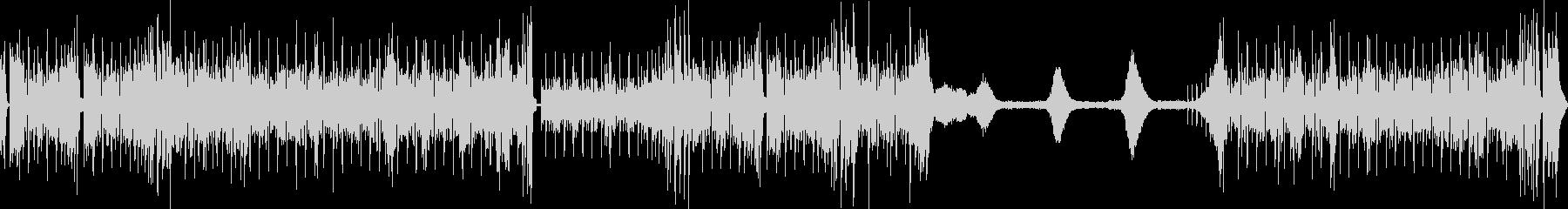 EGが印象的なフュージョンサウンドの未再生の波形