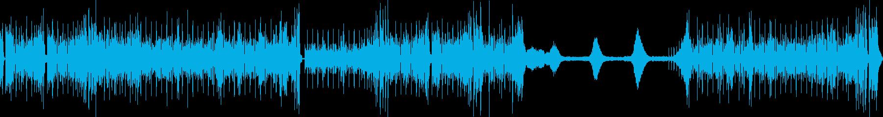 EGが印象的なフュージョンサウンドの再生済みの波形