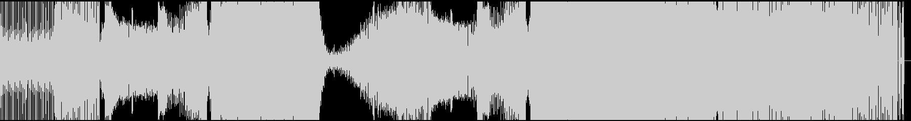 ノリの良いコミカルなEDMの未再生の波形