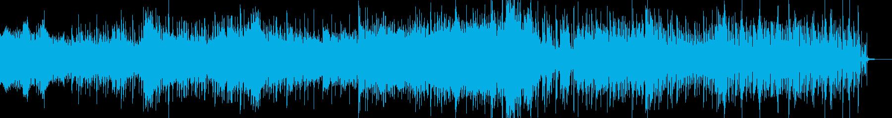 不思議オーガニックなシネマティックBGMの再生済みの波形