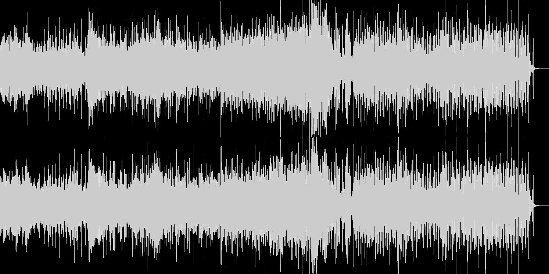 不思議オーガニックなシネマティックBGMの未再生の波形