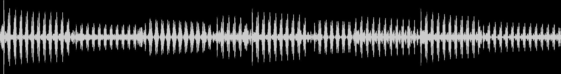 ベース指弾き 4/4 140(ラ)1の未再生の波形