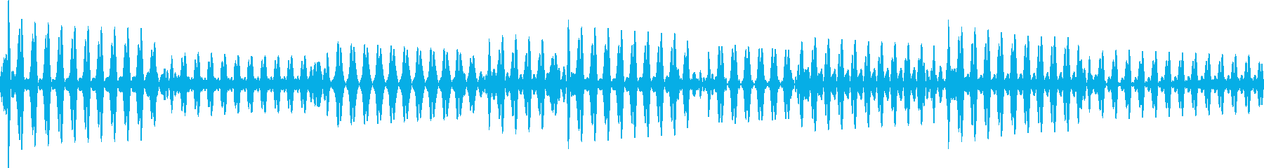 ベース指弾き 4/4 140(ラ)1の再生済みの波形