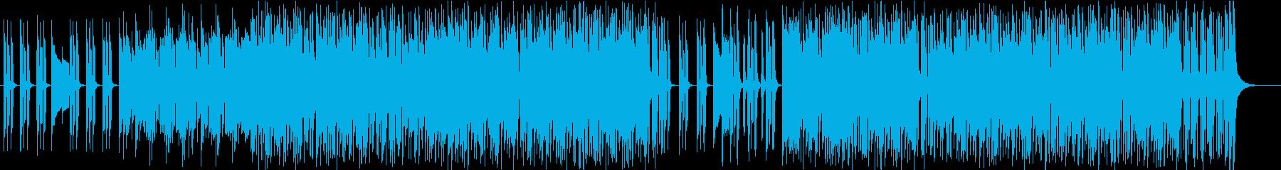 ファンク ワイルド 燃える テクノ...の再生済みの波形