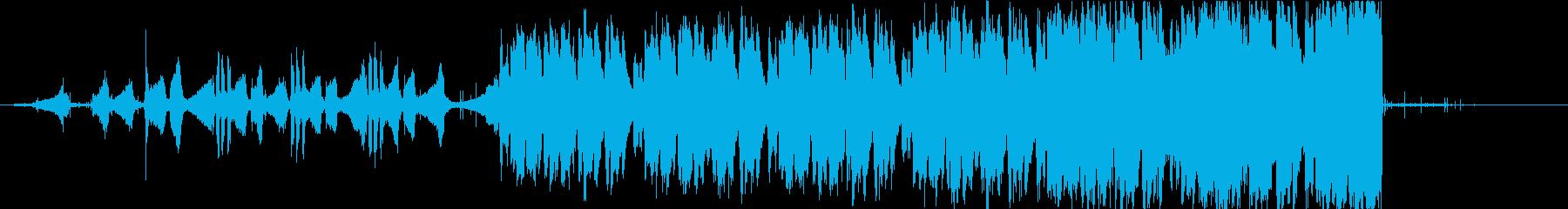 Outroの再生済みの波形