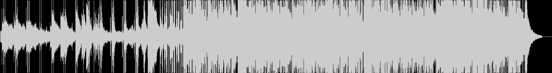 スパイもの用音楽の未再生の波形