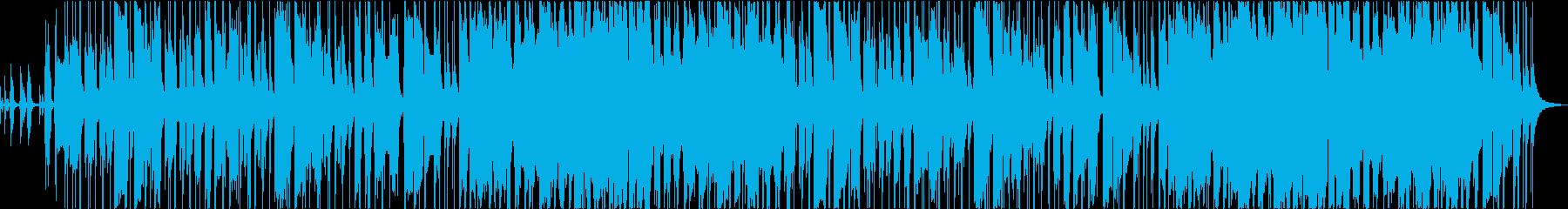 ブラスが特徴的なシティファンクBGMの再生済みの波形