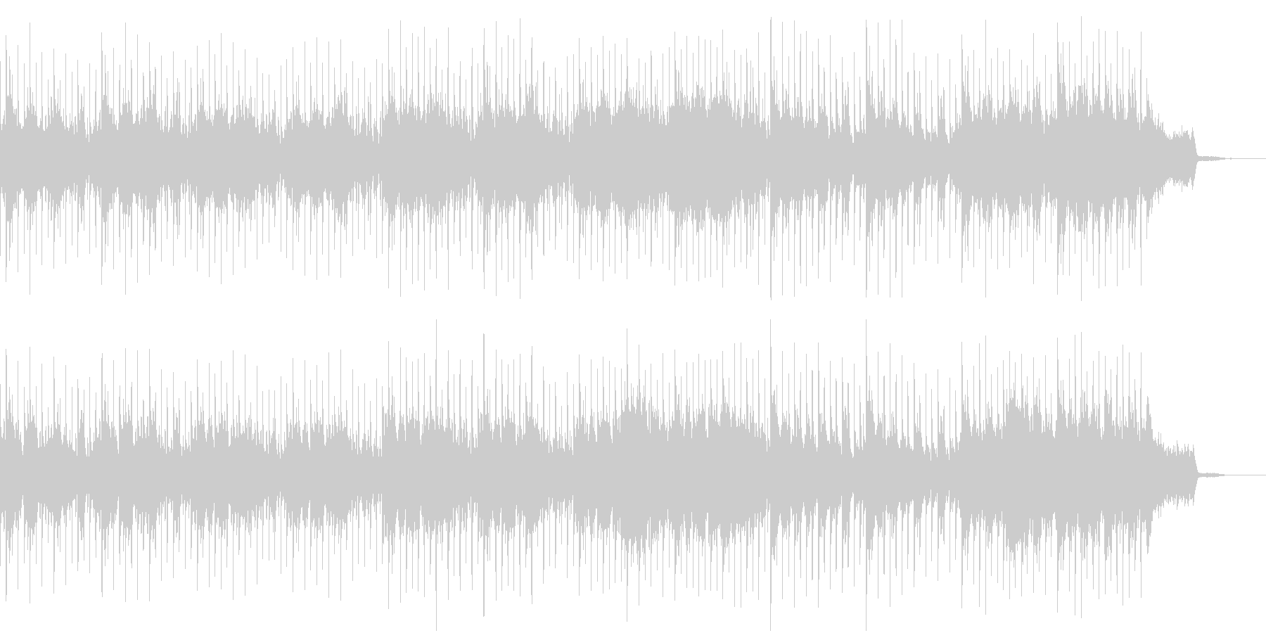 企業VP/アコギ生音ストリングス、ピアノの未再生の波形