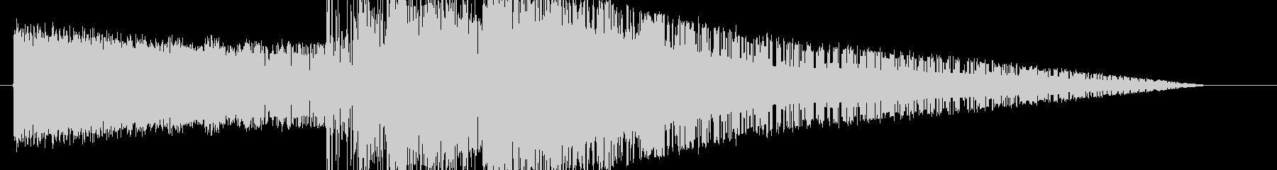 レトロゲーム風魔法雷系3の未再生の波形