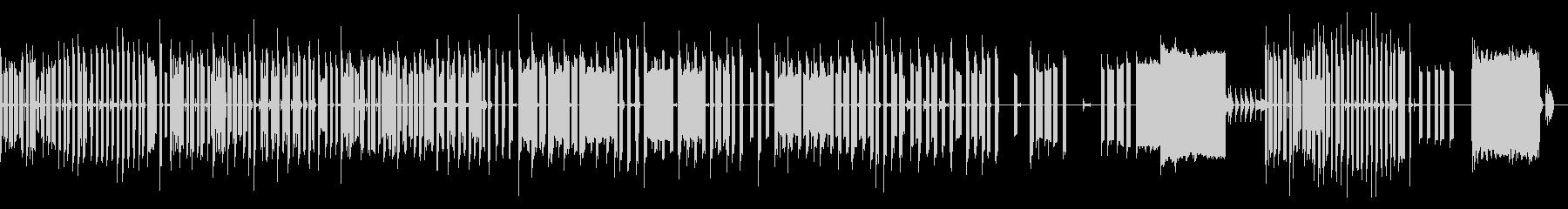 ミュージカルチックチップチューンスイングの未再生の波形