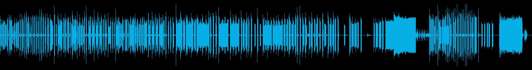 ミュージカルチックチップチューンスイングの再生済みの波形