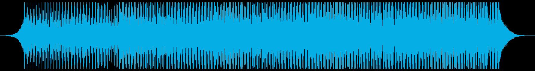 高揚ポップ(中)の再生済みの波形