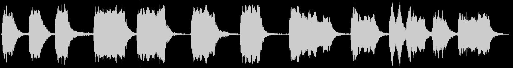 空気圧式空気ラチェット:作動、遠隔...の未再生の波形