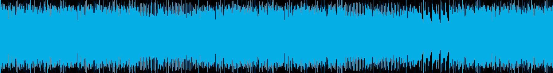地を這う様なスペーシーな要素満載なビートの再生済みの波形