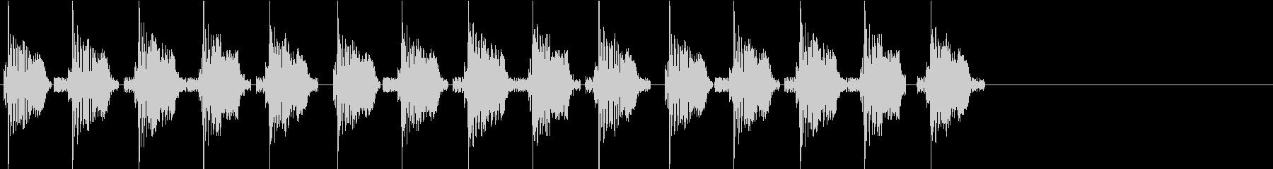 KANTププ自主規制音1shortの未再生の波形