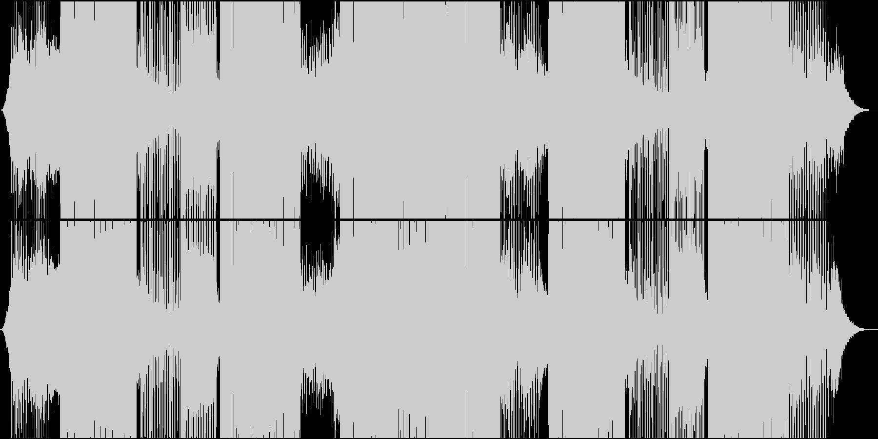 ゆったりムードのファンタジー系EDMの未再生の波形