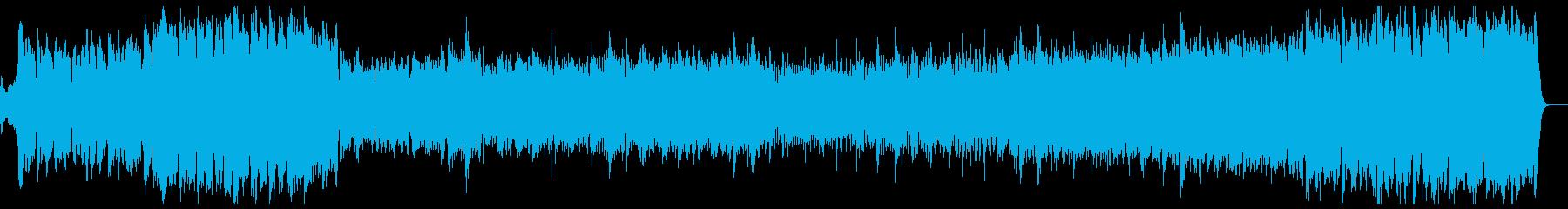 エレガントなファンファーレ&行進曲の再生済みの波形