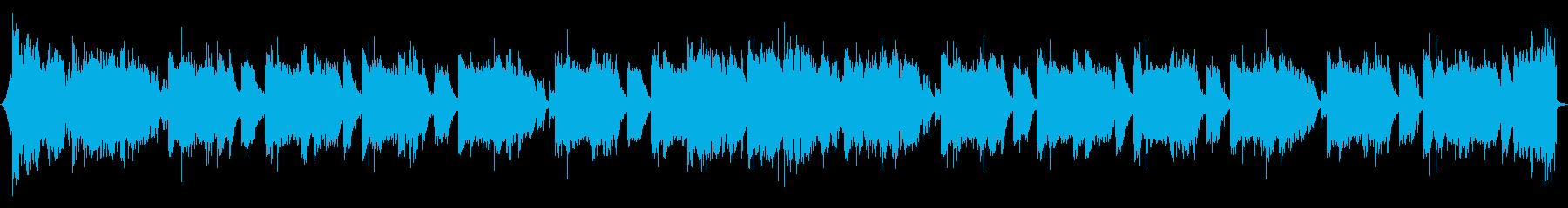 eSportsサイバーロックバンド30秒の再生済みの波形