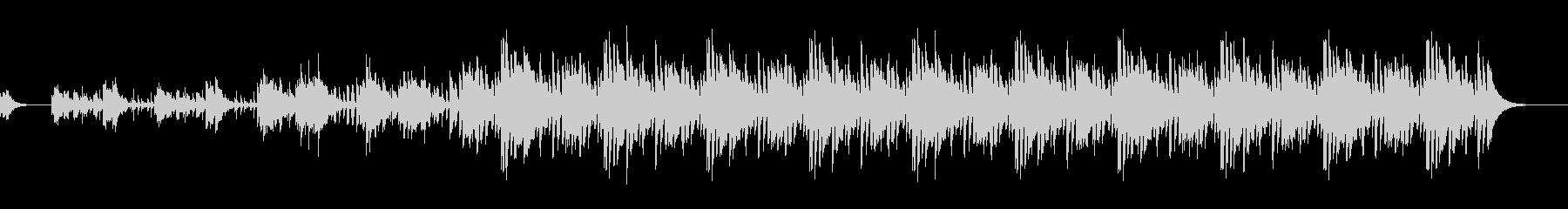 ミドルテンポノービートバージョンの未再生の波形