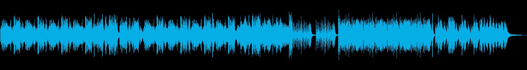 悲しい切ないピアノソロの再生済みの波形