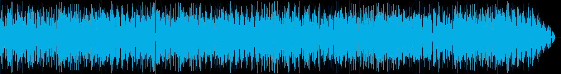 不思議な感じの音楽の再生済みの波形