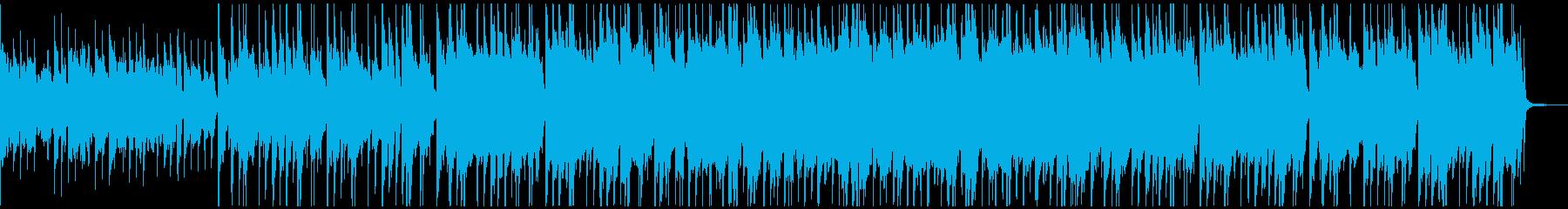 ほのぼのしたポップス ボンゴ コンガの再生済みの波形