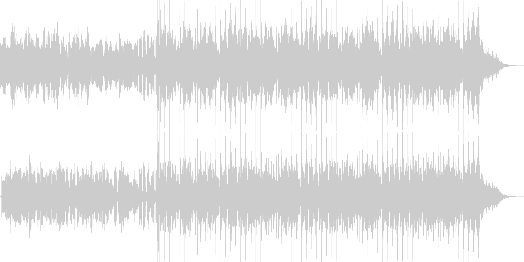 インスタ等ショートムービ向けEDMポップの未再生の波形