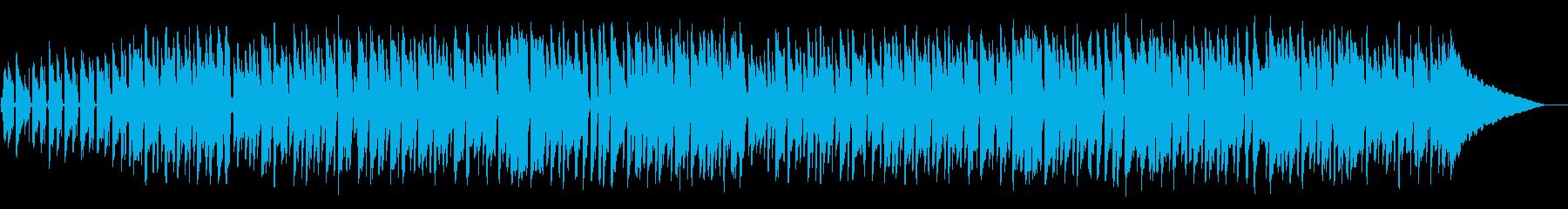軽快なウクレレミュージックの再生済みの波形