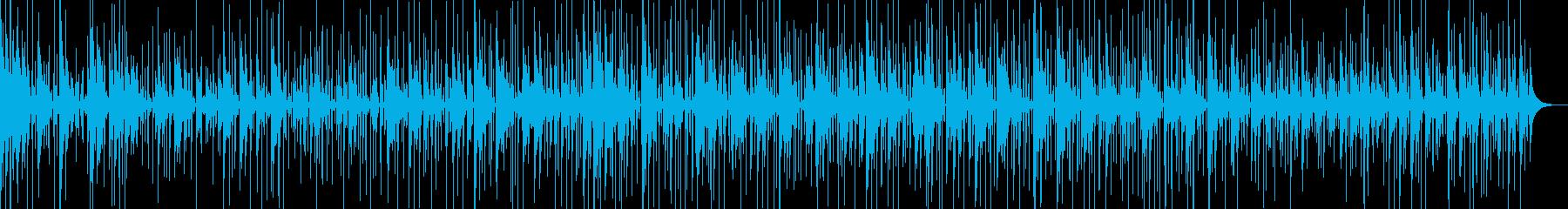 自己内省瞑想音楽6の再生済みの波形
