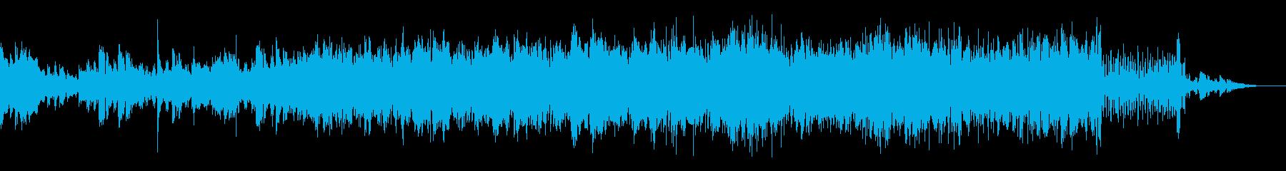 シンプルなシネマティックアンビエントの再生済みの波形