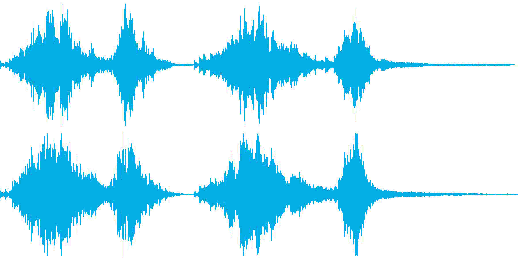 夜の和風ジングル15-ピアノソロの再生済みの波形
