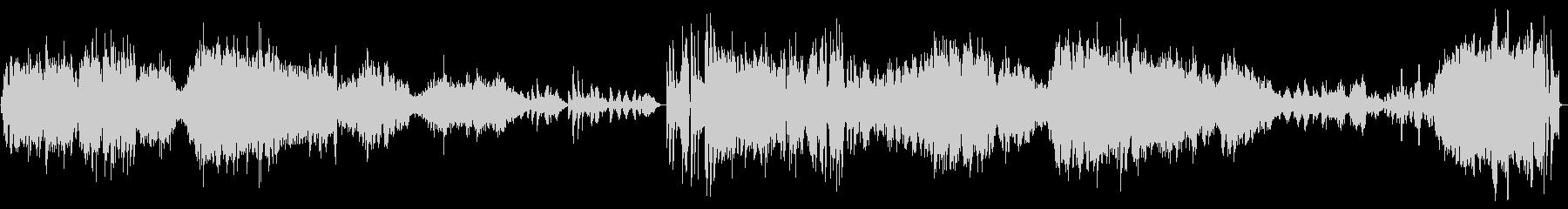 【生演奏】カッコいいバイオリンソナタ2章の未再生の波形