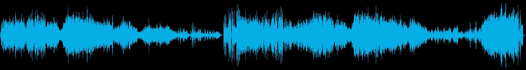 【生演奏】カッコいいバイオリンソナタ2章の再生済みの波形