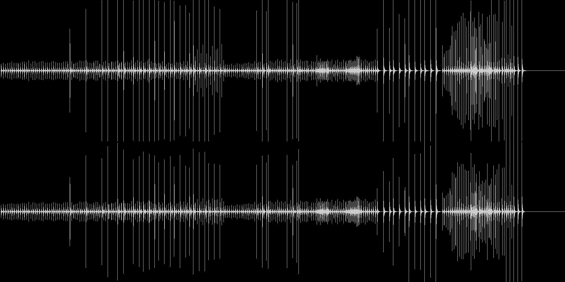 小木魚木章9歌舞伎黒御簾下座音楽和風日本の未再生の波形