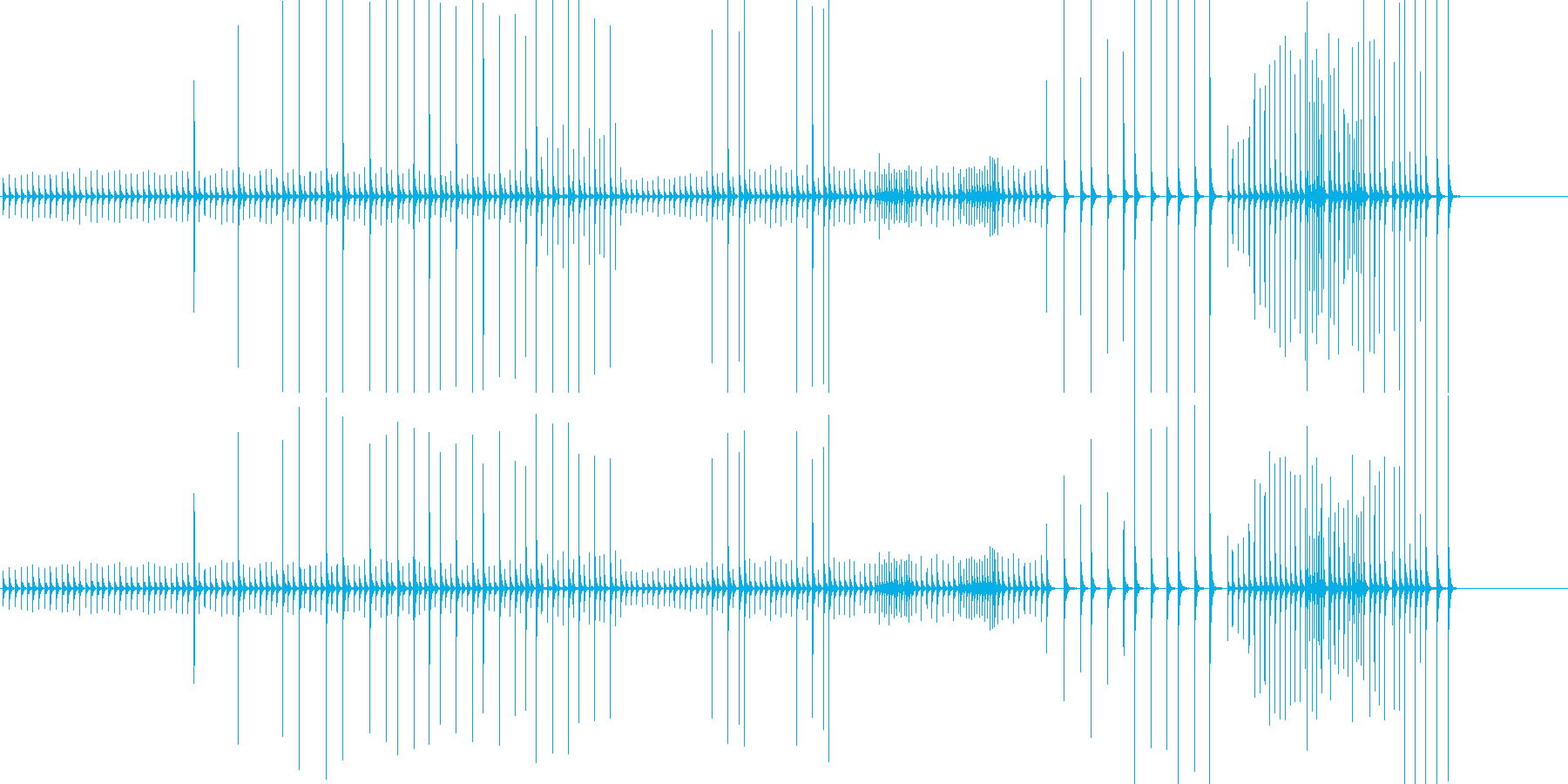 小木魚木章9歌舞伎黒御簾下座音楽和風日本の再生済みの波形