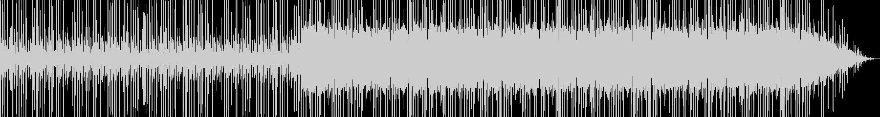 ブラックミュージックの未再生の波形