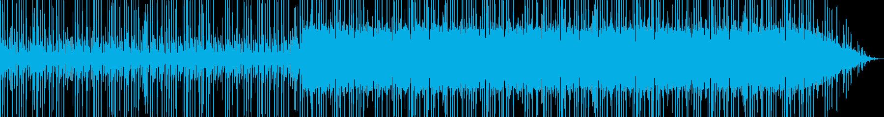 ブラックミュージックの再生済みの波形