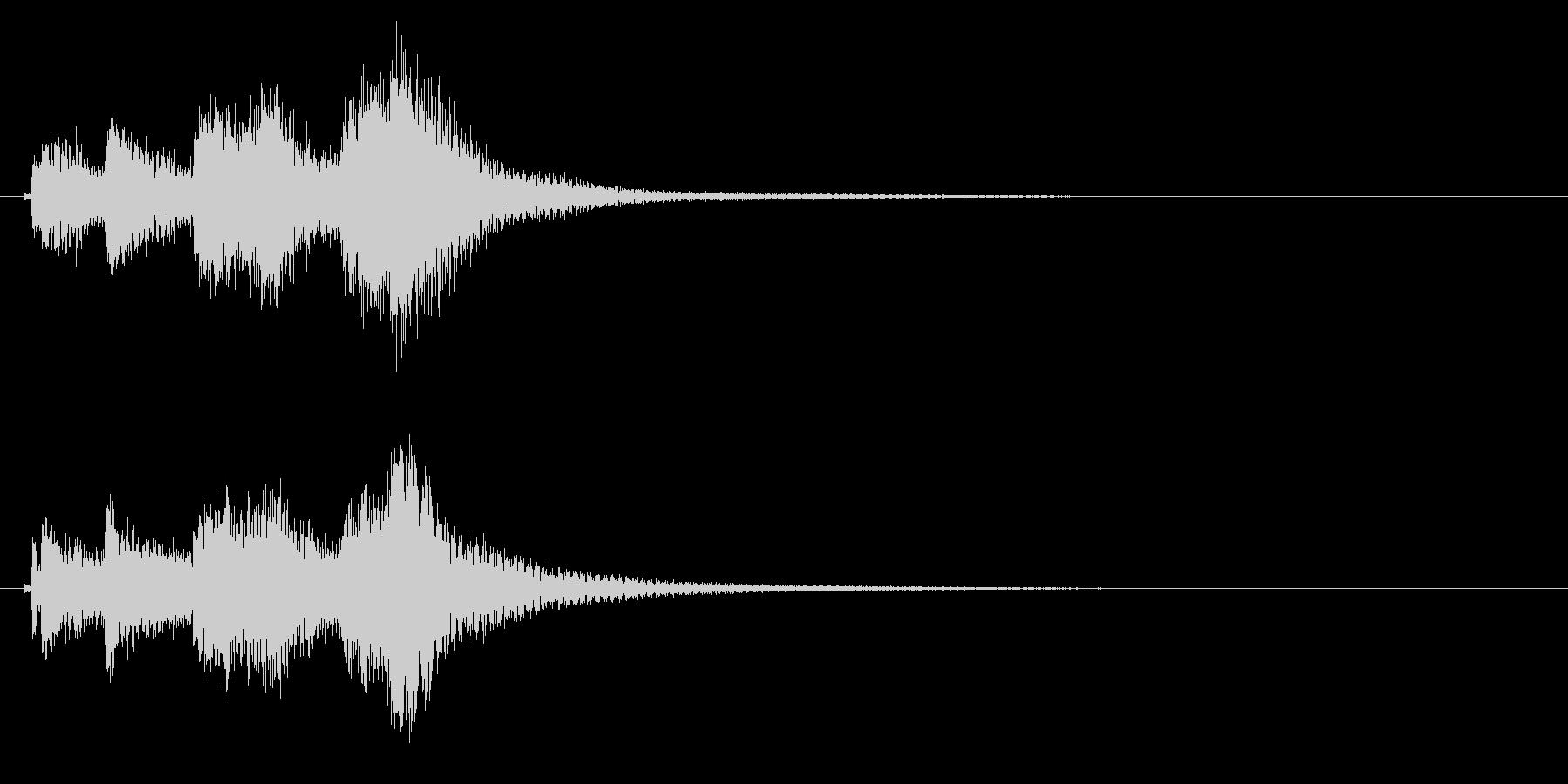 琴のフレーズ3☆調律2の未再生の波形