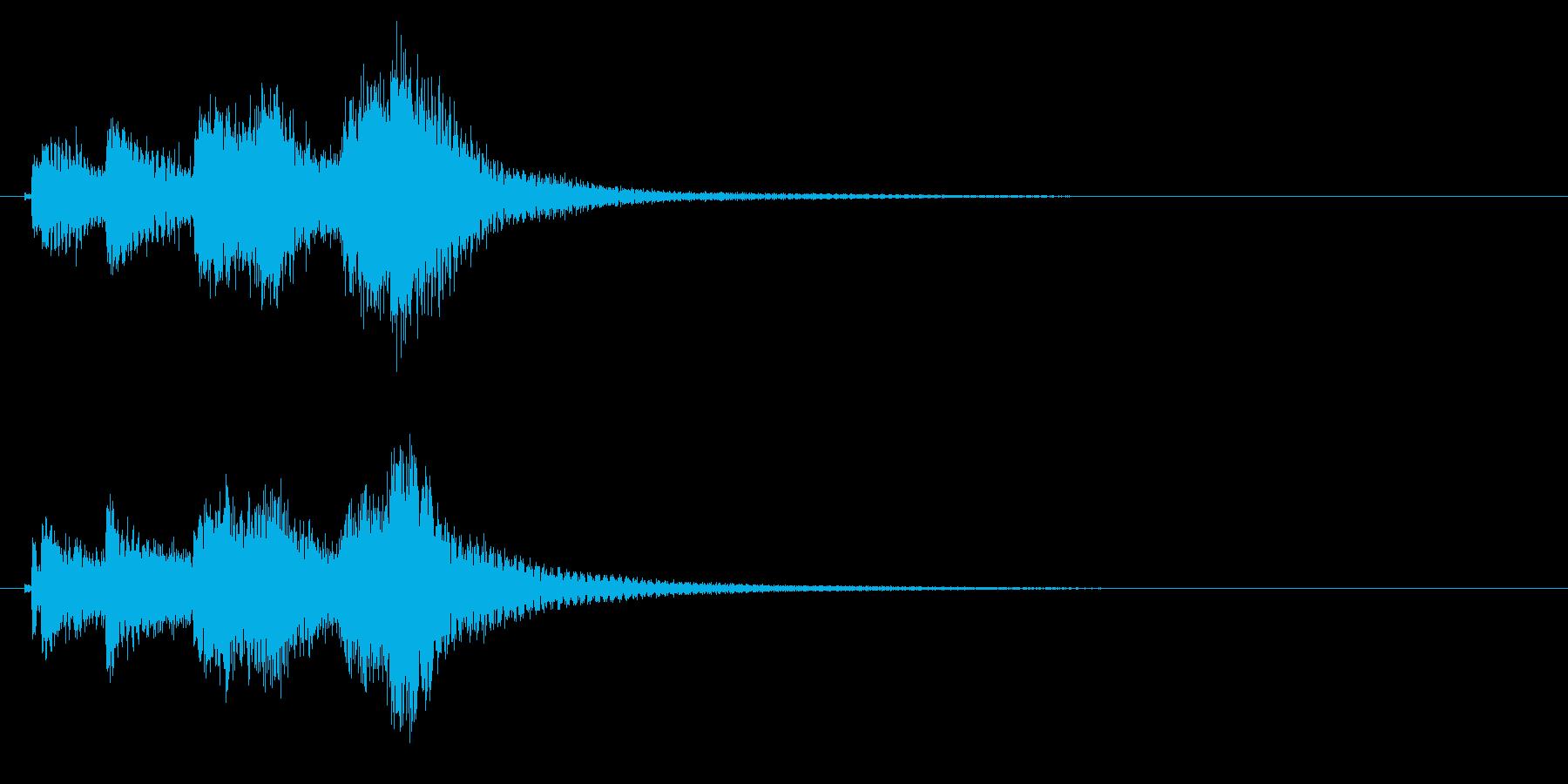 琴のフレーズ3☆調律2の再生済みの波形