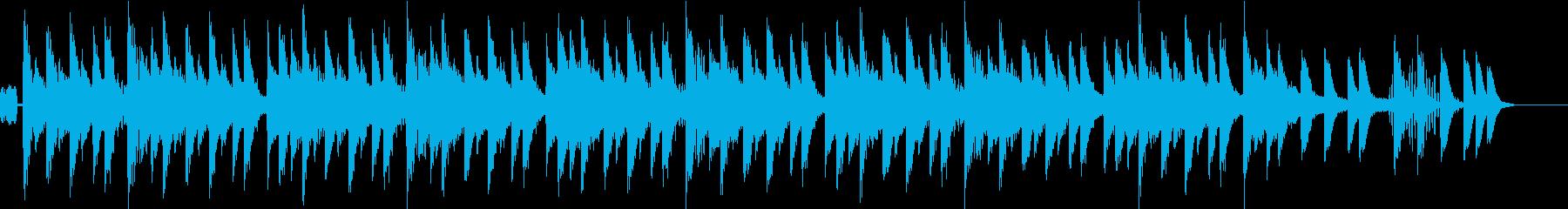 ホイッスル/生き物の遊び 30秒BGMの再生済みの波形