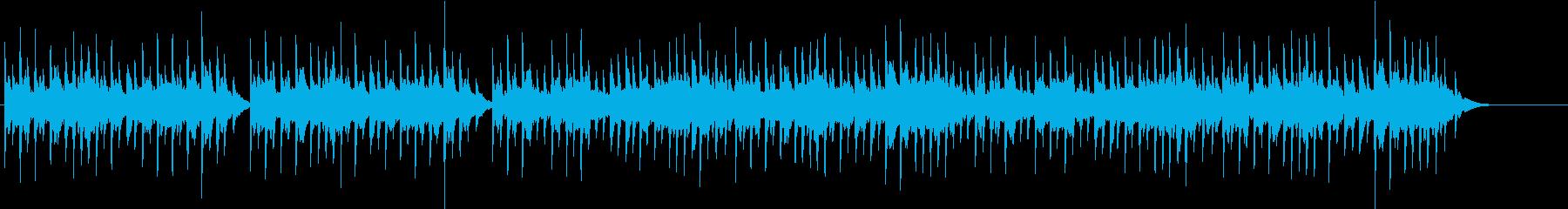 優しくかわいいオルゴールの再生済みの波形