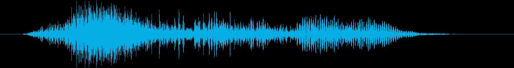 ヒューマノイド フィッシュマンボー...の再生済みの波形